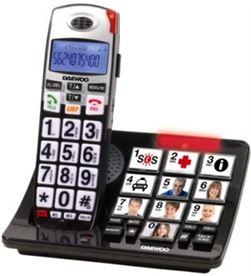 Telefono fijo Daewoo DTD7500, teclas grandes, con Telefonía doméstica - DTD7500