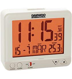 Daewo DCD200W reloj despertador , pantalla re Radio Radio/CD - DCD200W