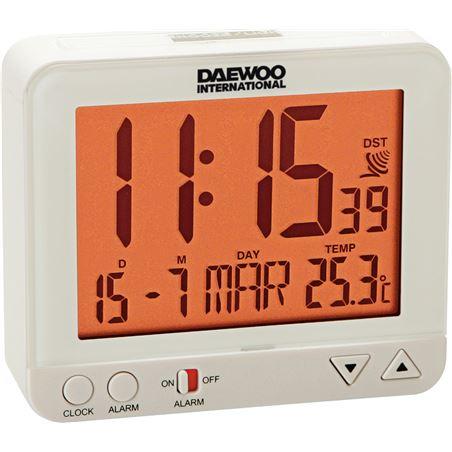 Reloj despertador Daewo DCD200W, pantalla re