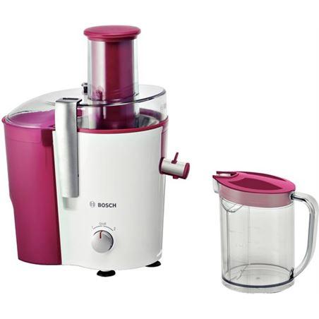 Licuadora blanca y rosa Bosch MES25C0