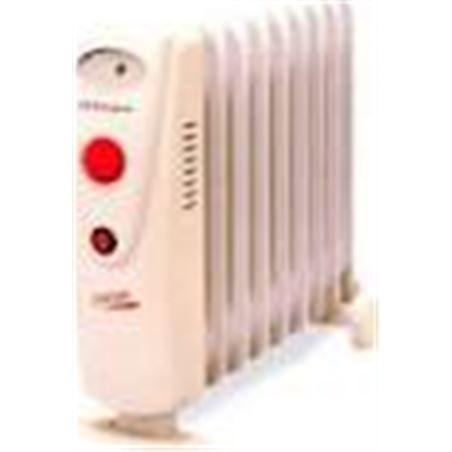 Radiador aceite Orbegozo RO1210C, 1200w, 9 elemeno