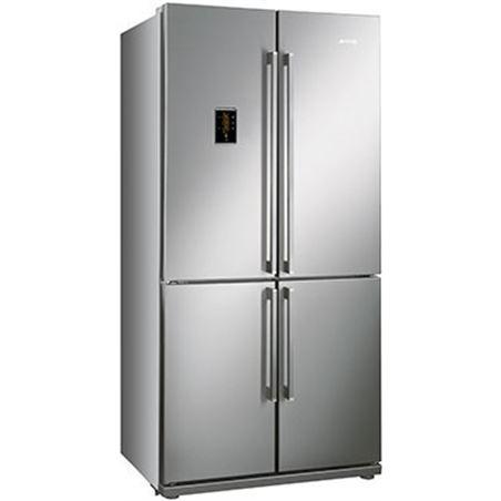 Smeg frigorífico 4puertas, estandar, display lcd touch fq60xpe