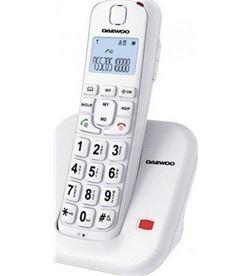 Daewo DTD7200B télefono inalámbrico o negro Telefonía doméstica - DTD7200B