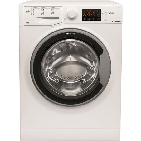 Lavadora carga frontal rontal Hotpoint RSG825JS, 8kg, 1200rpm