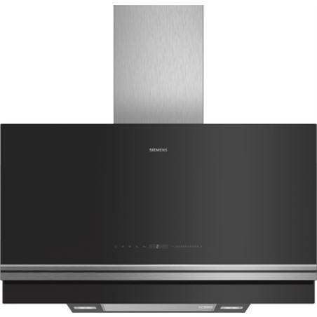 Campana decorativa Siemens LC97FVW60 90cm negra ve