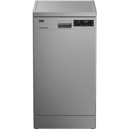 Lavavajillas DFS28020X Beko, a++, 8 programas