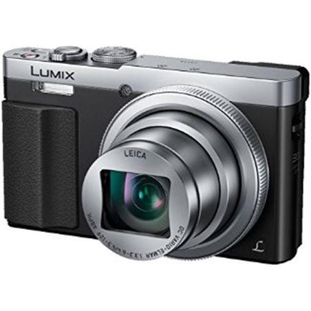Panasonic camara compacta plata/ sensor mos/ 12,1mp / lei dmctz70egs