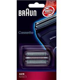 Lamina+cuchilla Braun apta afeitadoras nueva serie BRAPACK32B - CASSETTE32B