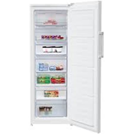Congelador vertical Beko RFNE290L21W no frost, a+