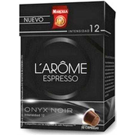 Capsula cafe onix noir l' arome Marcilla MAR4018046