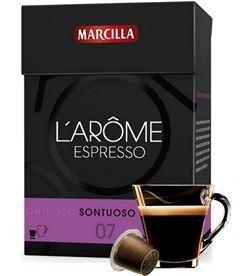 Capsula cafe sontuoso l' arome Marcilla 4028358 Cápsulas - 4015888