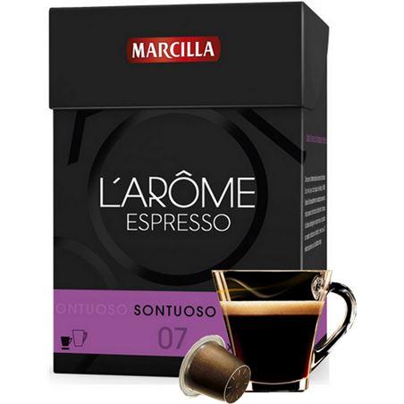 Capsula cafe sontuoso l' arome Marcilla 4028358