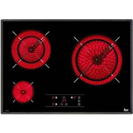 Placa electrica vitroc Teka tr5300 60cm 3zon bisel 40239050