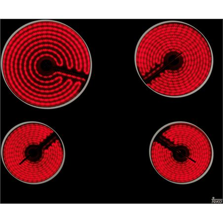 Teka vitrocerámica tt 6320 3 zonas slim 40239011