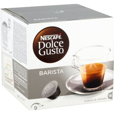 Nestlé cafe barista dolce gusto 12192631, 16 capsulas. baristaarabica