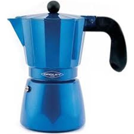 Cafetera 6t induccion azul Oroley 215060300