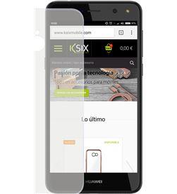 Funda flex ksix tpu transparente Huawei y6 2017 B0746FTP00 - CONB0746FTP00