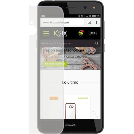Funda flex ksix tpu transparente Huawei y6 2017 B0746FTP00