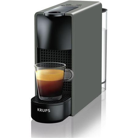 Cafetera nespresso Krups xn1101b essenza mini gris XN110BPR5