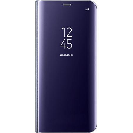 Funda Samsung clear view cover galaxy s8+ violeta EFZG955CVEGWW