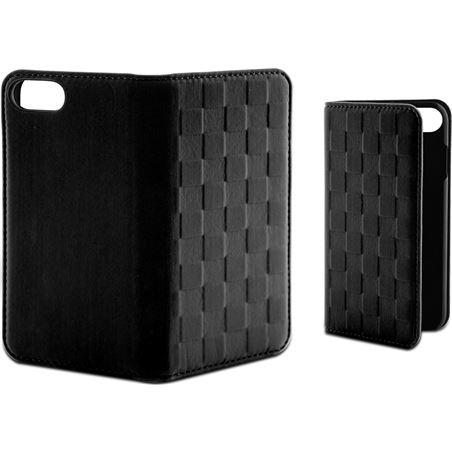 Funda folio soft Ksix para iphone 7 negra B0935FU85N