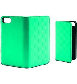 Funda folio soft Ksix para iphone 7 verde turquesa B0935FU85T - B0935FU85T