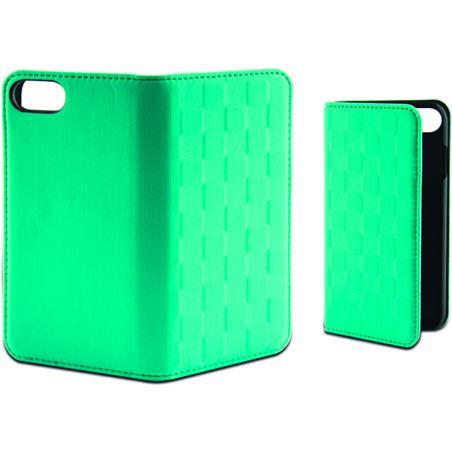 Funda folio soft Ksix para iphone 7 verde turquesa B0935FU85T