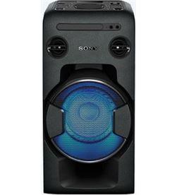 Sony sistema audio mhcv11 bluetooth alta potencia negro MHCV11CEL - MHCV11