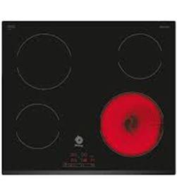 Placa vitro Balay 3EB720LR 4focs 60cm bisel davant - 3EB720LR