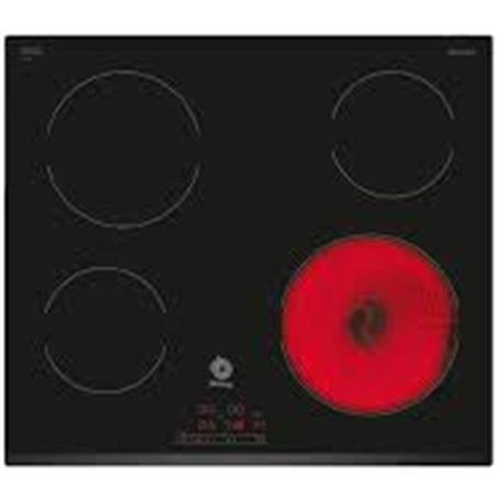Placa vitro Balay 3EB720LR 4focs 60cm bisel davant