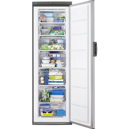 Congelador v Zanussi ZFU27400XA 185cm inox a+