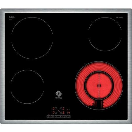 Placa vitro Balay 3EB721XR 4focs 60cm marc inox