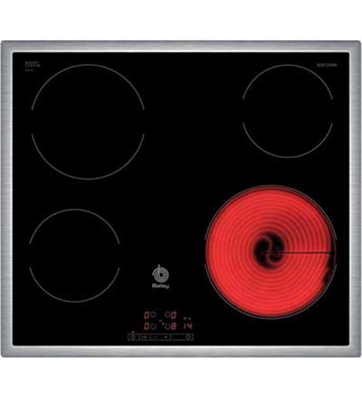 Placa vitro Balay 3EB720XR 4fuegos 60cm marco acer - 3EB720XR