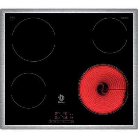 Placa vitro Balay 3EB720XR 4fuegos 60cm marco acer