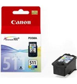 0001060 cartucho tinta canon cl-511 cian, magenta, amarill 2972b001 - 2972B004