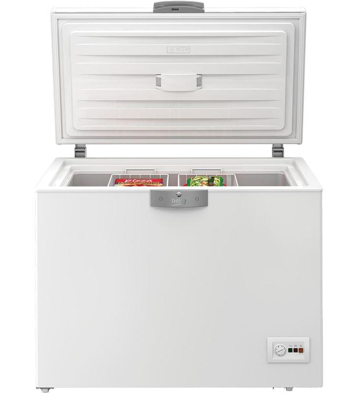0000533 congelador h beko hsa24520 86x110x72,5cm blanco a+ - HSA24520