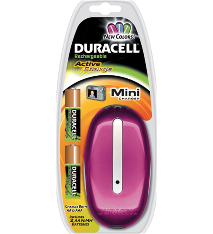 Cargador Duracell cef14 value charge DURCEF14 - CEF20+2AAA