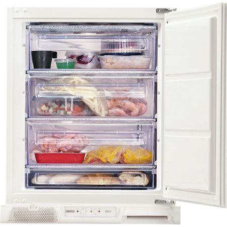 Congelador v Zanussi zuf11420sa 82x55cm a+ integr ZANZUF11420SA