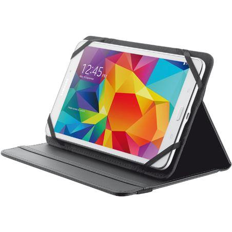 Funda universal tablet Trust 7/8'' stand negra TRU20057