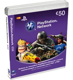 Sony tarjeta de puntos para ps3/psp de 50 euros sps9893837 - 9893837