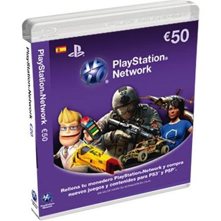 Sony tarjeta de puntos para ps3/psp de 50 euros sps9893837