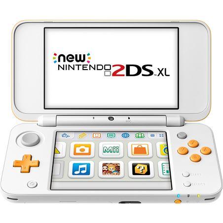 Nintendo consola new 2ds xl blanco/naranja nin2209366