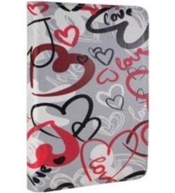 Funda universal tablet 9,7-10,1'' E-vitta 3p crazy hearts EVTTEVUN000402 - 8436540272065