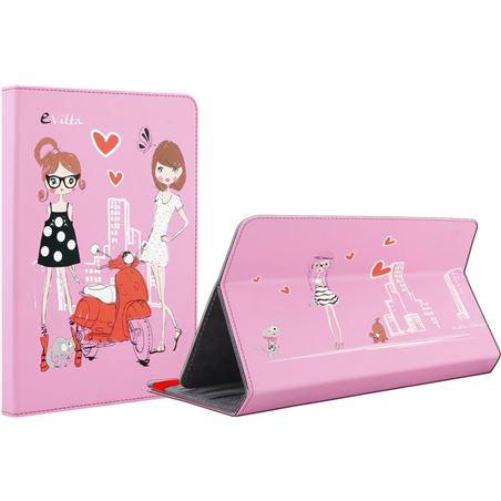Funda universal tablet 9,7-10,1'' E-vitta 3p fashion girls EVTTEVUN000412