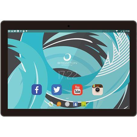 Informatica tableta brigmton 10''negro btpc1024qcn