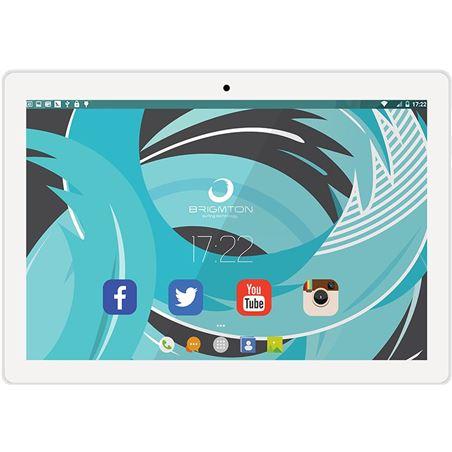 Informatica tableta brigmton 10'' blanco btpc1024qcb