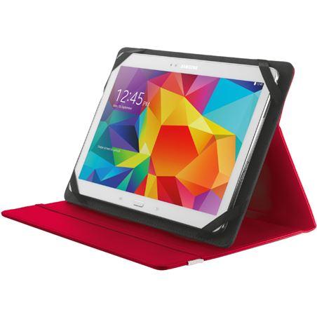 Funda universal tablet 10,1'' stand Trust roja TRU20316