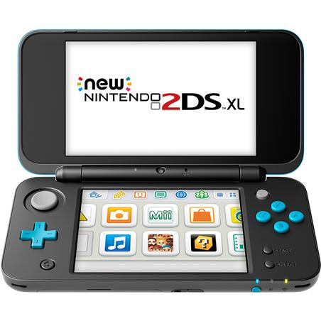 Nintendo consola new 2ds xl negro/turquesa nin2209266