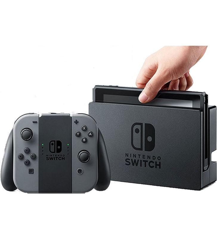 consola nintendo switch hw gris switchgrey. Black Bedroom Furniture Sets. Home Design Ideas