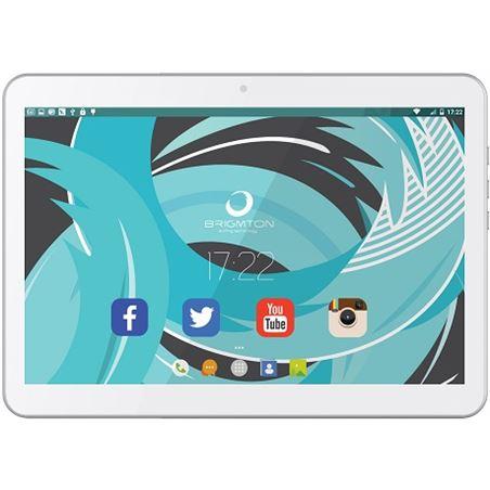 "Informatica tableta brigmton 10"" blanco 3g btpc1021qcb"
